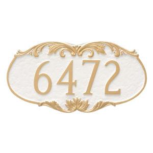 Charleston Address Sign Plaque