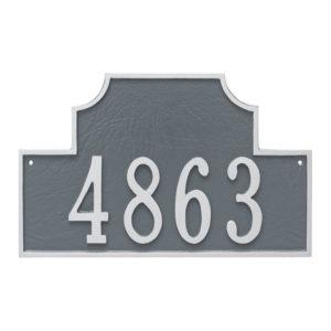 Beckford Estate One Line Address Sign Plaque