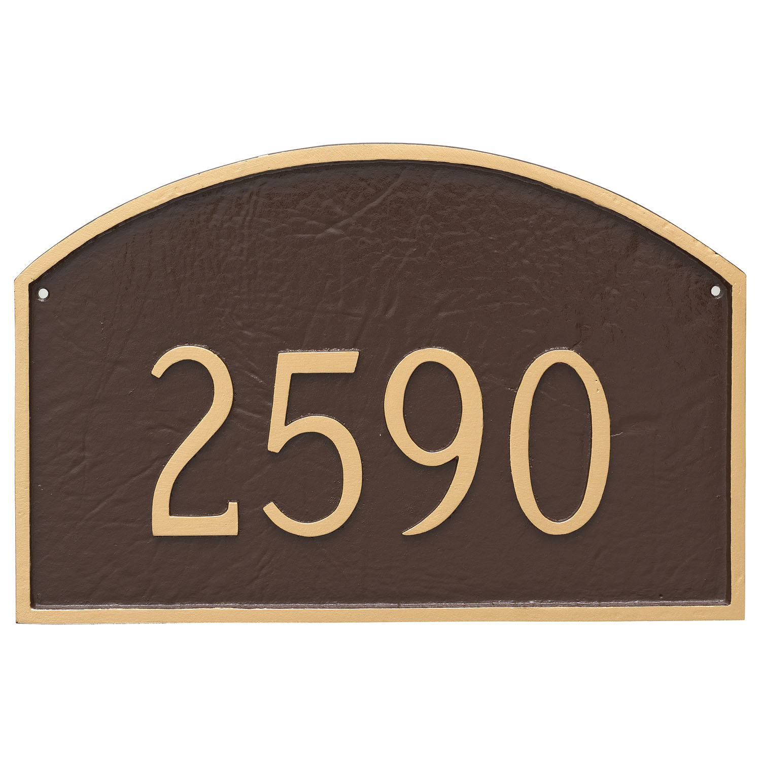 Prestige Arch Large One Line Address Sign Plaque The Address Number Store