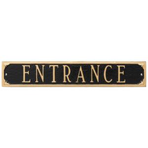 Entrance/Exit Signs
