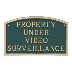 Security/Surveillance Signs