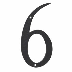 """10"""" Standard House Number in Black or White"""
