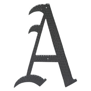 """16"""" Home Accent Individual Monogram Letters A-Z Black"""